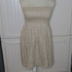 NWT MPH Collection Tan Tube Dress 3x